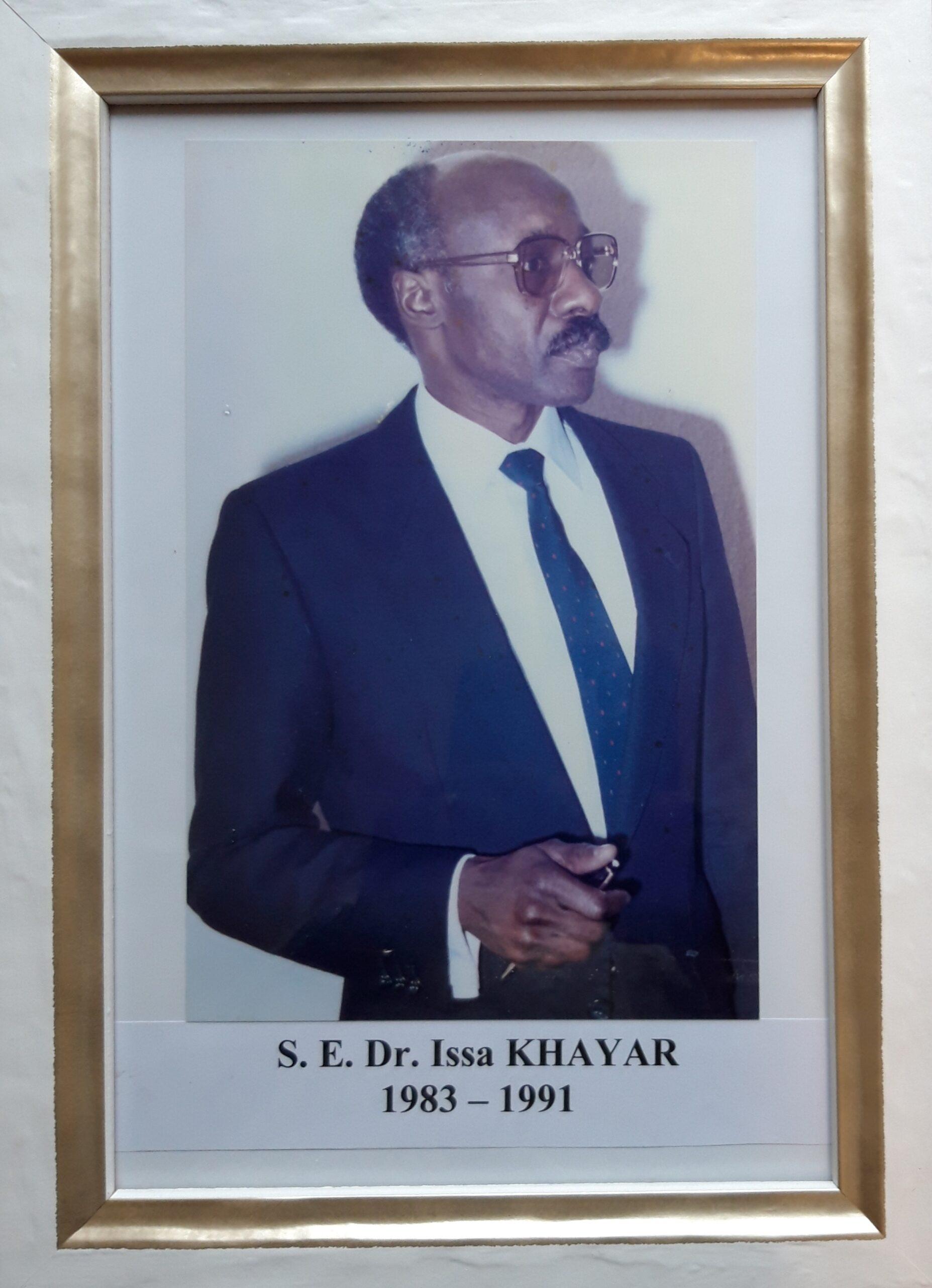 S.E. Dr. Issa KHAYAR